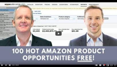 100 HOT AMAZON PRODUCT OPPORTUNITIES - Amazing Selling Machine